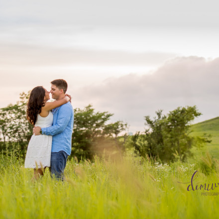 prairie engagment session