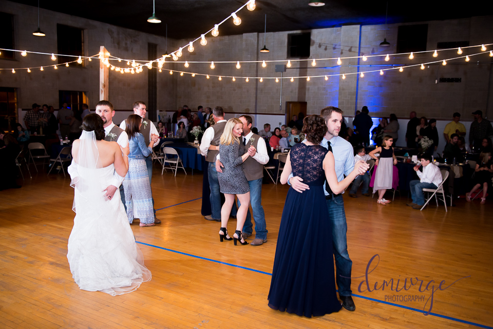 george J. perry armory wedding reception