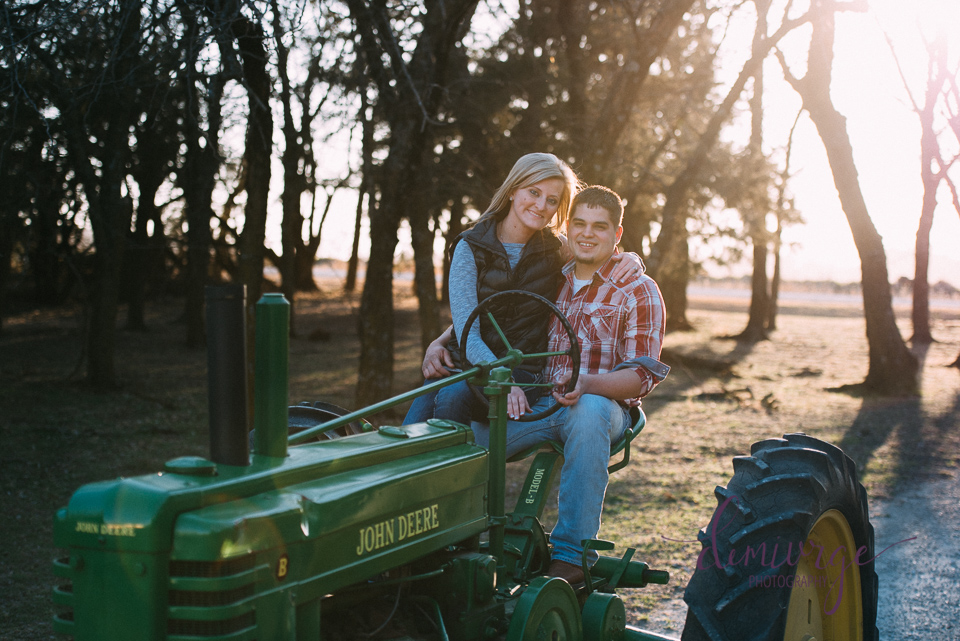 john deere tractor engagement