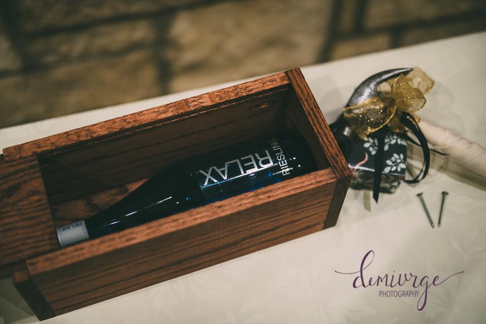 wine box wedding tradition