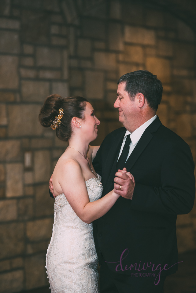 father and daughter dance wedding