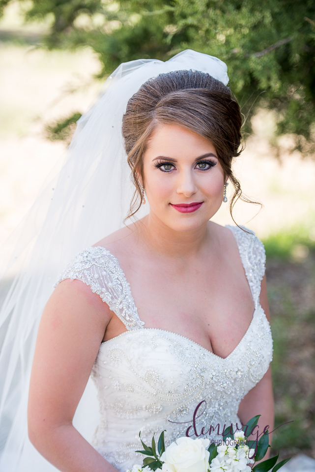 glamorous bridal portrait kansas wedding photographer