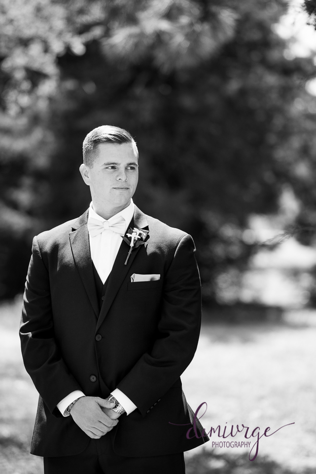 timeless groom portrait