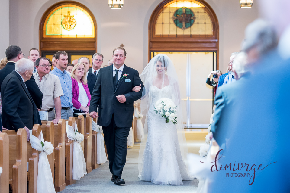 St. Fidelis Catholic Church Wedding