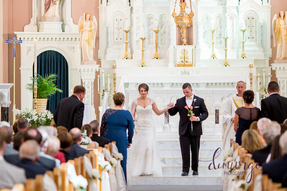 St. Fidelis Catholic Church Wedding Ceremony