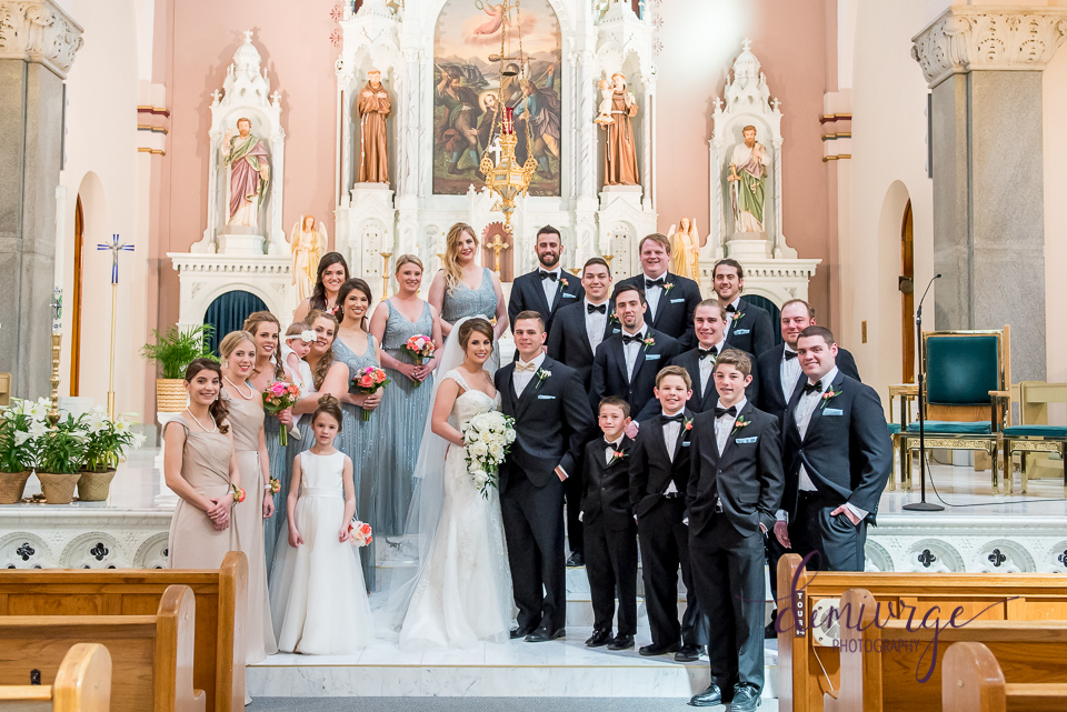 Elegant Catholic Wedding Photographer in Kansas