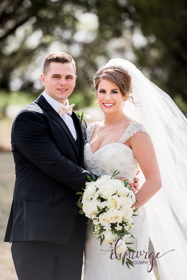 Timeless Bride and Groom Portrait