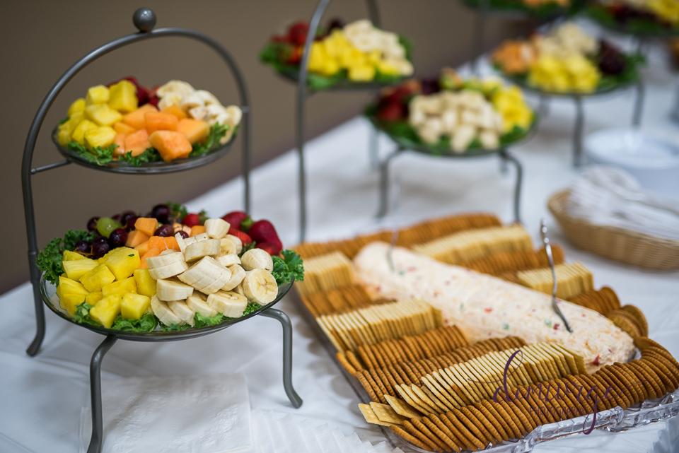 wedding breakfast hors d'oeuvres