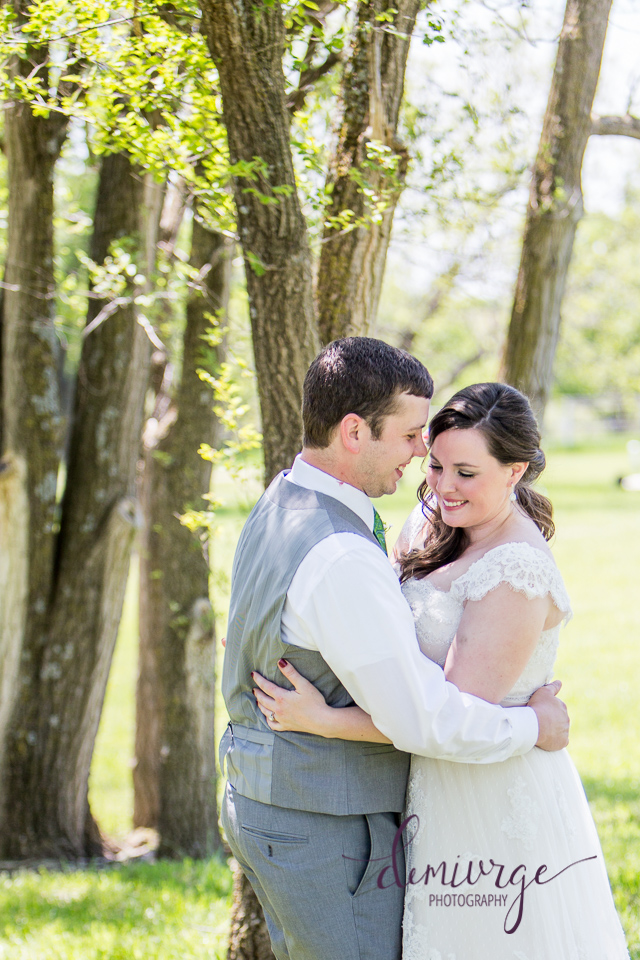 bride and groom photo outdoor wedding