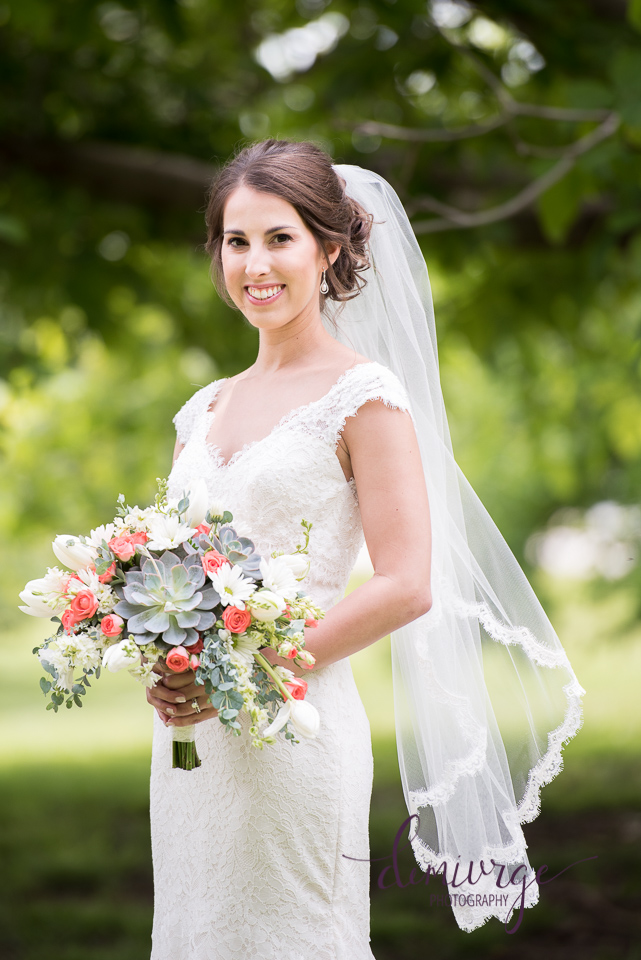 Lazy T Ranch Bridal Portrait