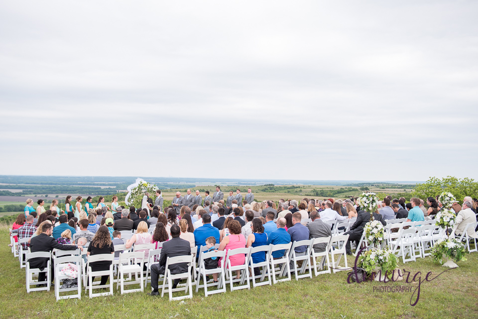 lazy t ranch wedding ceremony
