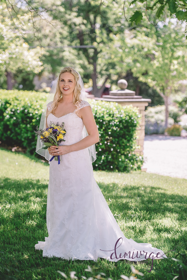 manhattan kansas bridal portrait