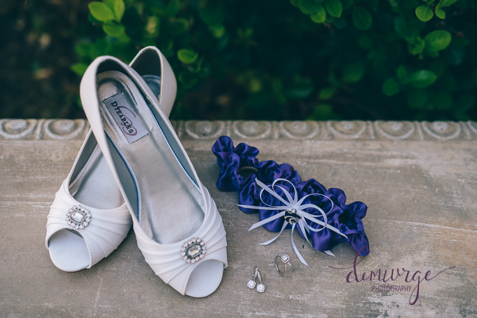 bride's wedding day details