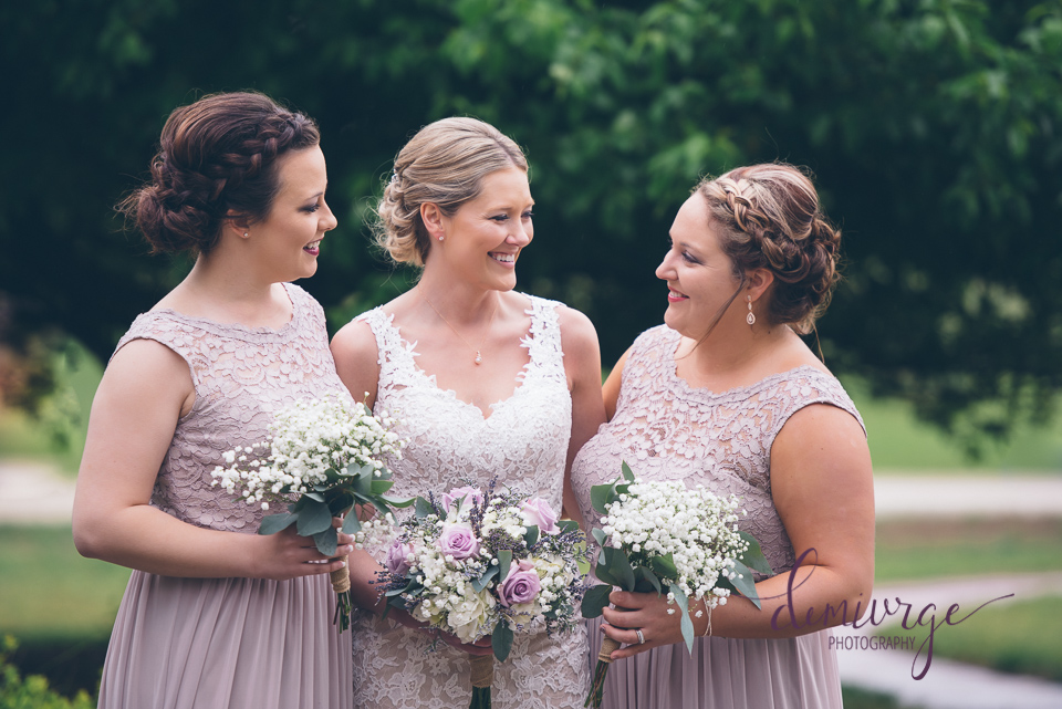 candid bridesmaid photo
