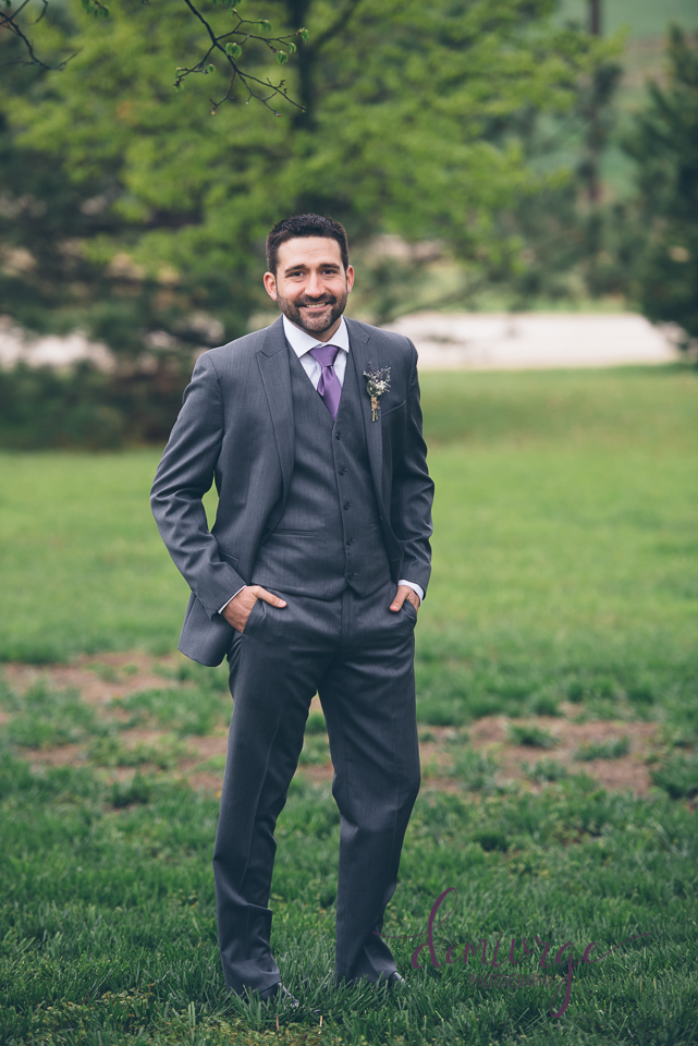 groom full length portrait