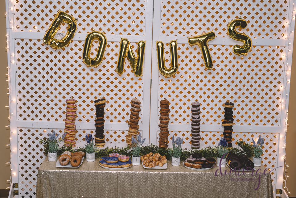 wedding donut bar varsity donuts