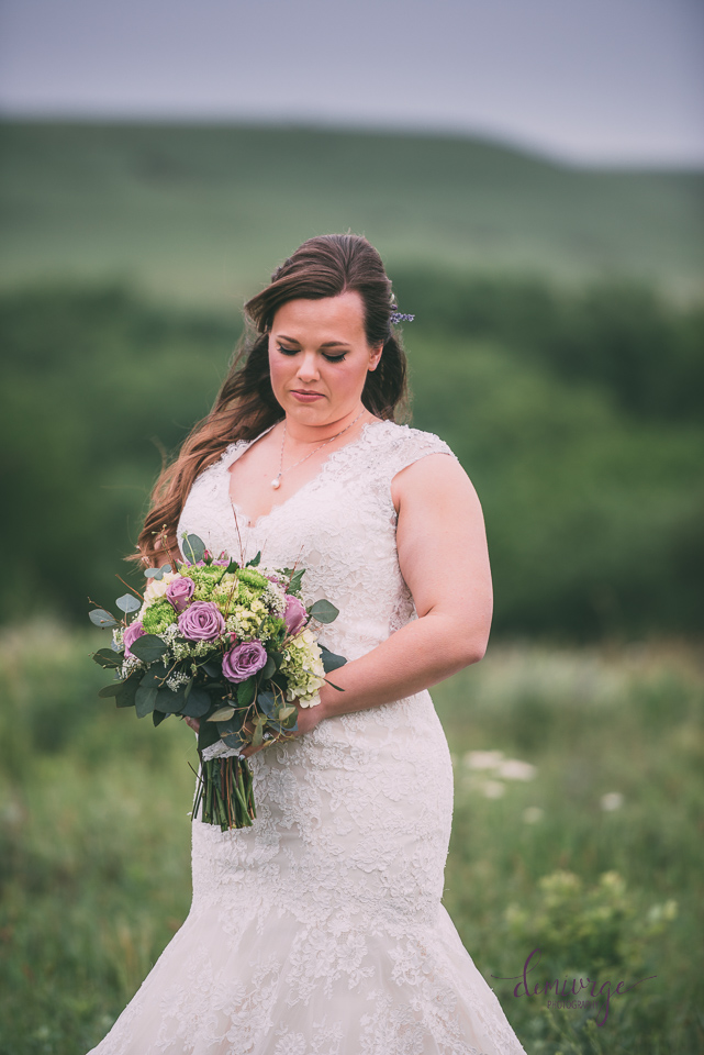 bridal portrait ranch
