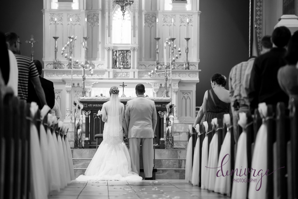 saints peter and paul catholic church wedding ceremony