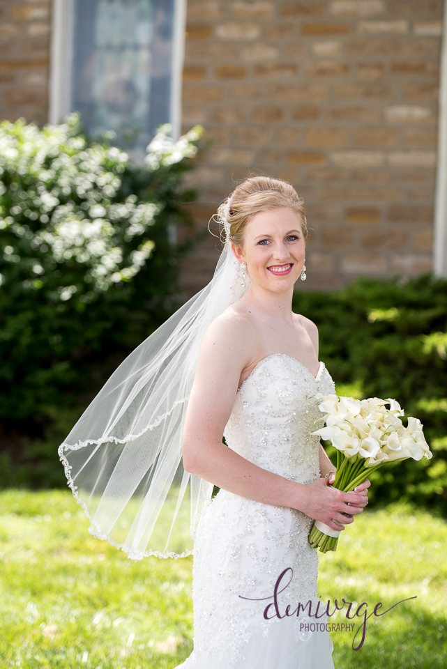 bridal portrait seneca ks wedding photographer