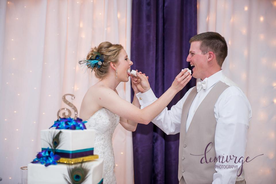 wedding cake cutting bern community center