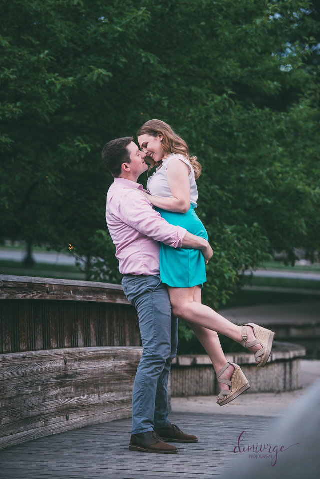 kansas city engagement photographer loose park