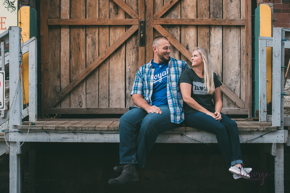 west bottoms engagement session