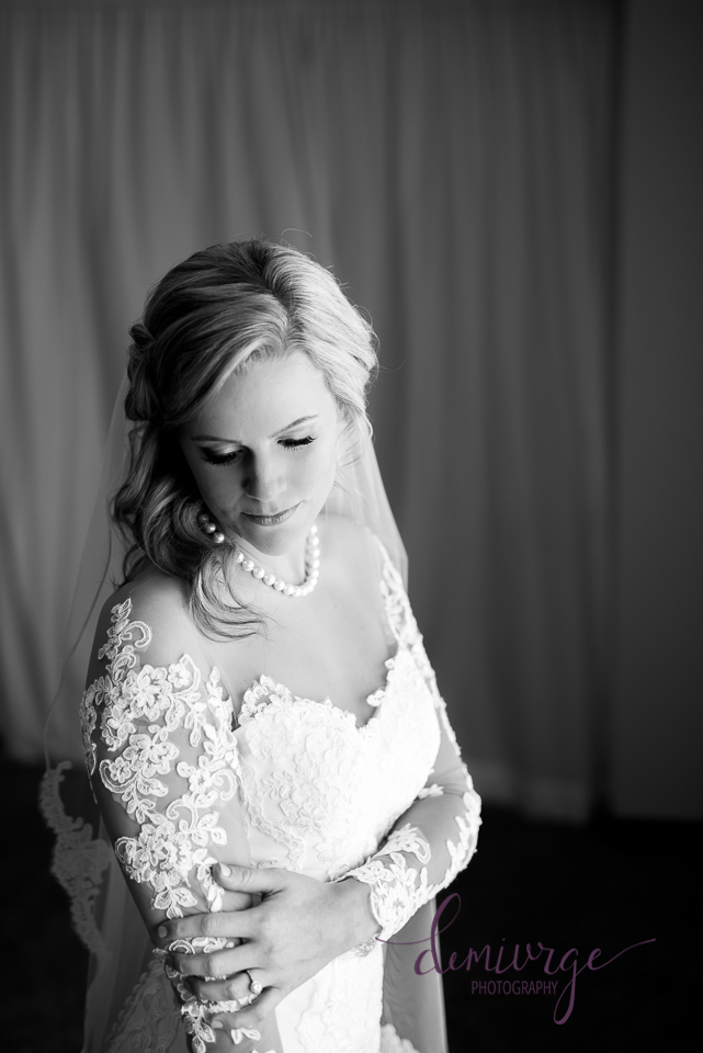 dramatic bridal portrait chrisman manor