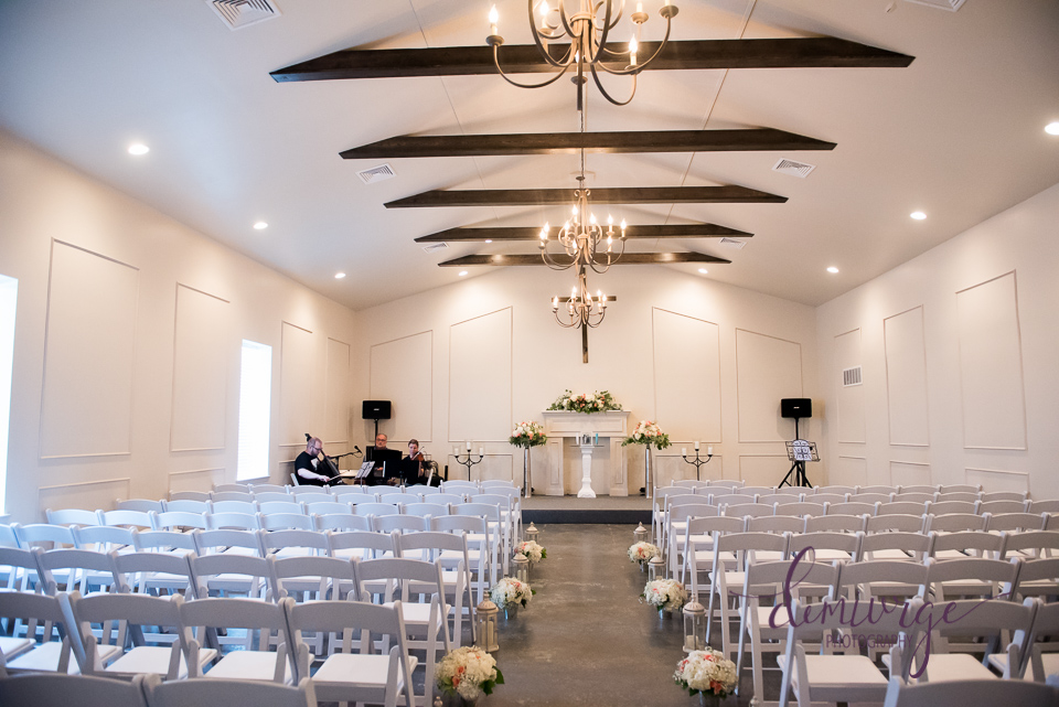 Chrisman Manor Wedding Ceremony