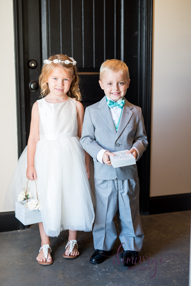 flower girl and ring bearer chrisman manor