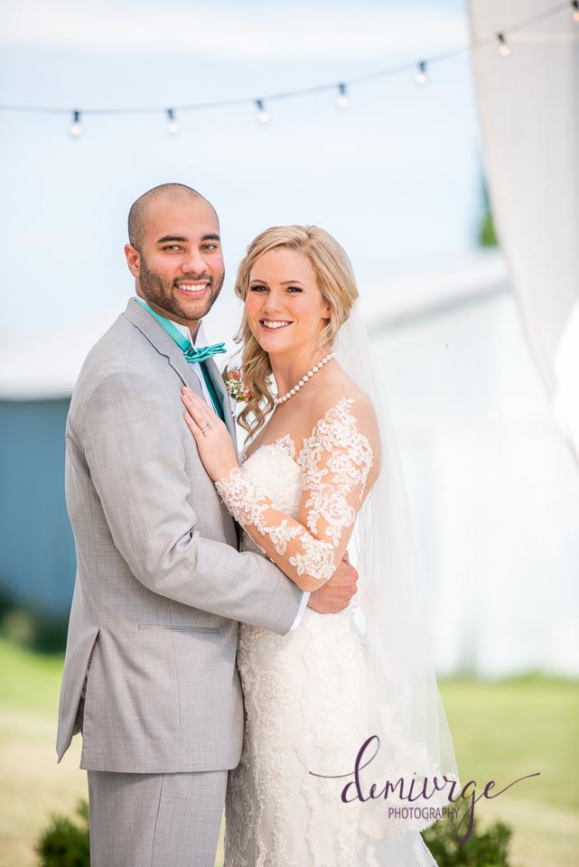 chrisman manor wedding couple