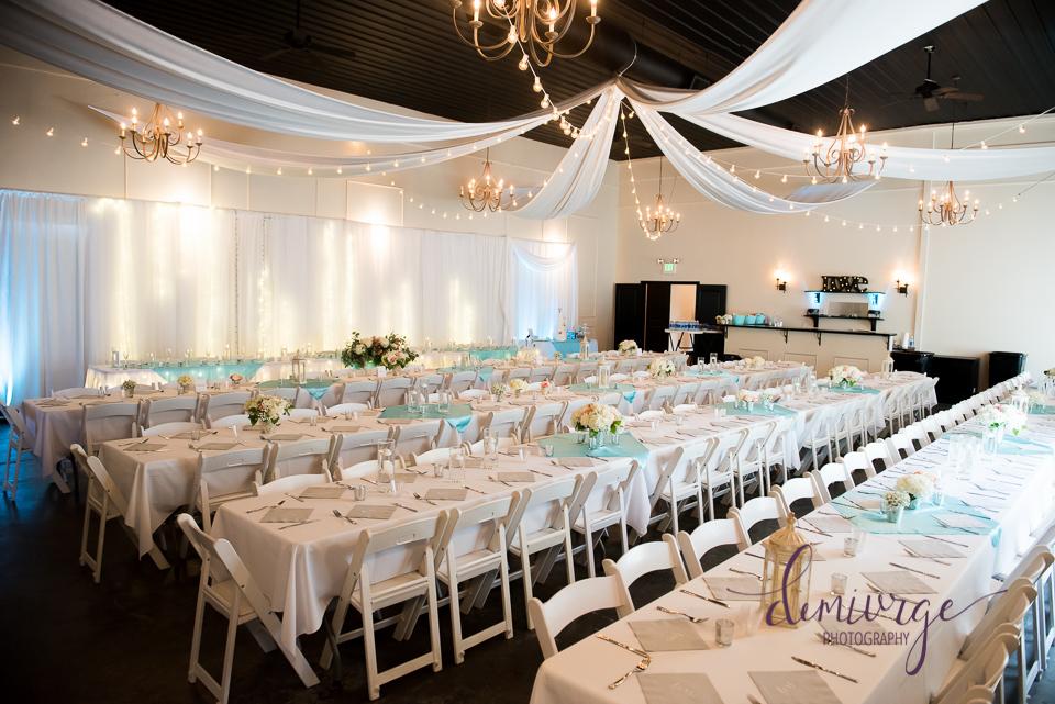 chrisman manor wedding reception decor
