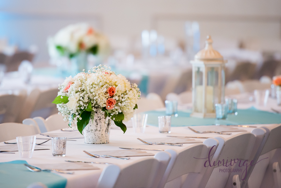 reception centerpieces wedding