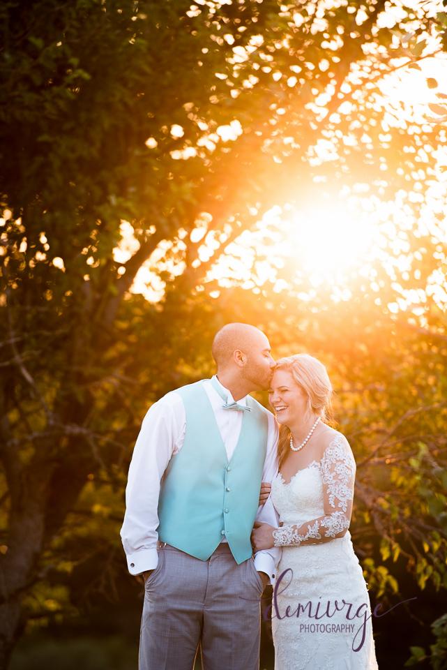 beautiful bride and groom portrait, oskaloosa wedding photographer